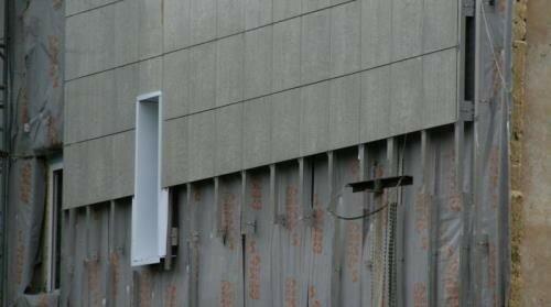 установка вентилируемого фасада